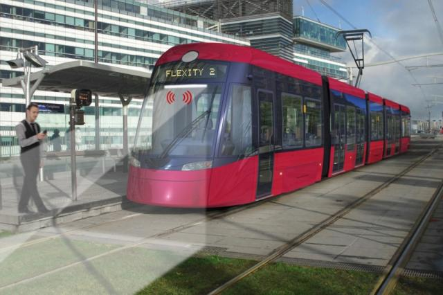 Bombardier trams are capable of detecting obstacles thanks to an optical AIT 3D sensor system specially developed for use of light rail vehicles.
