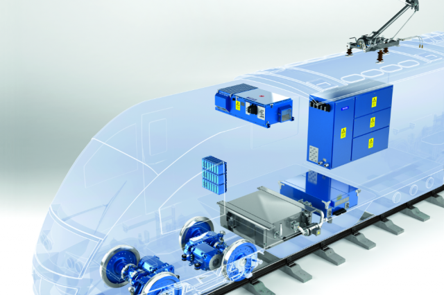 Voith Traction components