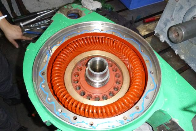 stator and rotor
