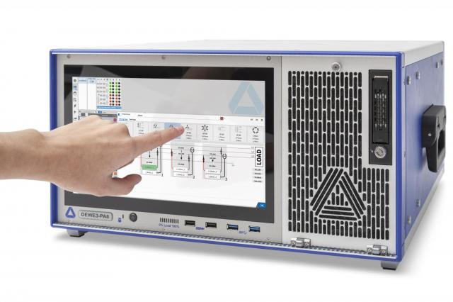 high speed power analyzer DEWE3-PA8